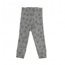 Love skull leggings, grey