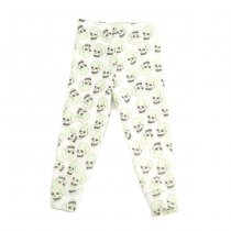 Love skull leggings, white