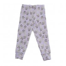 Love skull leggings, lilac