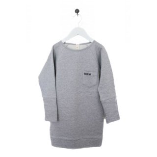 Long sweatshirt, grey melange